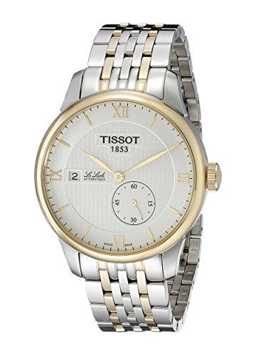 ティソ 腕時計 メンズ T0064282203800 Tissot Men's T0064282203800 Le Locle Analog Display Swiss Automatic Two Tone Watchティソ 腕時計 メンズ T0064282203800