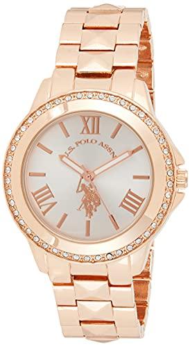 ユーエスポロアッスン 腕時計 レディース USC40078 【送料無料】U.S. Polo Assn. Women's USC40078 Rose Gold-Tone Bracelet Watchユーエスポロアッスン 腕時計 レディース USC40078