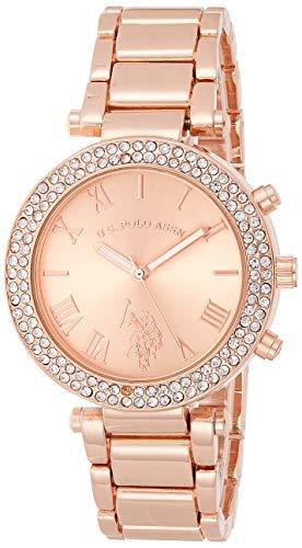ユーエスポロアッスン 腕時計 レディース USC40170 【送料無料】U.S. Polo Assn. Women's Quartz Rose Gold-Toned Dress Watch (Model: USC40170)ユーエスポロアッスン 腕時計 レディース USC40170