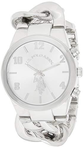 ユーエスポロアッスン 腕時計 レディース USC40178 【送料無料】U.S. Polo Assn. Women's USC40178 Analog Display Analog Quartz Silver Watchユーエスポロアッスン 腕時計 レディース USC40178