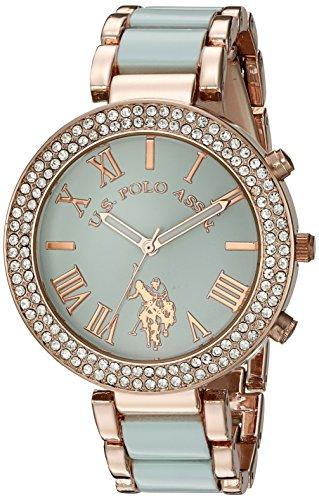 ユーエスポロアッスン 腕時計 レディース USC40083 【送料無料】U.S. Polo Assn. Women's Quartz Green Dress Watch (Model: USC40083)ユーエスポロアッスン 腕時計 レディース USC40083