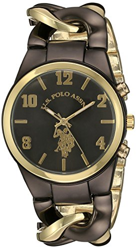 ユーエスポロアッスン 腕時計 レディース USC40177 【送料無料】U.S. Polo Assn. Women's USC40177 Analog Display Analog Quartz Two Tone Watchユーエスポロアッスン 腕時計 レディース USC40177