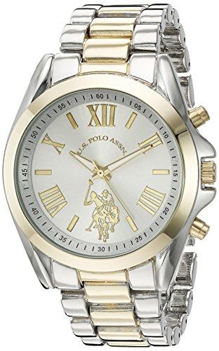 ユーエスポロアッスン 腕時計 レディース USC40117 【送料無料】U.S. Polo Assn. Women's Quartz Metal and Alloy Casual Watch, Color:Two Tone (Model: USC40117)ユーエスポロアッスン 腕時計 レディース USC40117