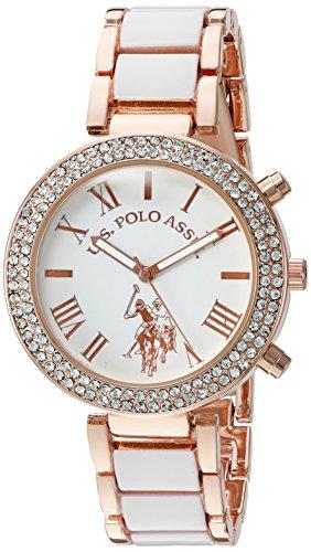 ユーエスポロアッスン 腕時計 レディース USC40091 【送料無料】U.S. Polo Assn. Women's Quartz White Dress Watch (Model: USC40091)ユーエスポロアッスン 腕時計 レディース USC40091