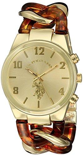 ユーエスポロアッスン 腕時計 レディース USC40174 【送料無料】U.S. Polo Assn. Women's USC40174 Analog Display Analog Quartz Two Tone Watchユーエスポロアッスン 腕時計 レディース USC40174