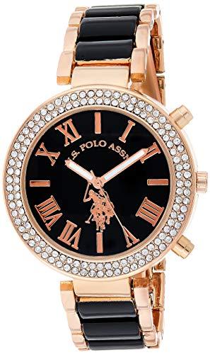 ユーエスポロアッスン 腕時計 レディース USC40090 【送料無料】U.S. Polo Assn. Women's USC40090 Rose Gold-Tone Dress Watchユーエスポロアッスン 腕時計 レディース USC40090