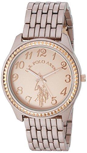 ユーエスポロアッスン 腕時計 レディース USC40099 【送料無料】U.S. Polo Assn. Women's Quartz Metal and Alloy Watch, Color:Rose Gold-Toned (Model: USC40099)ユーエスポロアッスン 腕時計 レディース USC40099