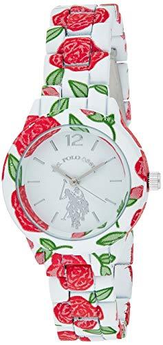 ユーエスポロアッスン 腕時計 レディース USC40102 【送料無料】U.S. Polo Assn. Women's Quartz Metal and Alloy Watch, Color:Two Tone (Model: USC40102)ユーエスポロアッスン 腕時計 レディース USC40102