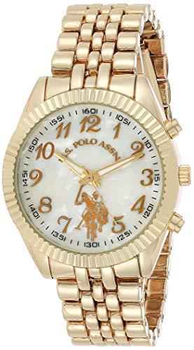 ユーエスポロアッスン 腕時計 レディース USC40097 【送料無料】U.S. Polo Assn. Women's Quartz Metal and Alloy Watch, Color:Gold-Toned (Model: USC40097)ユーエスポロアッスン 腕時計 レディース USC40097