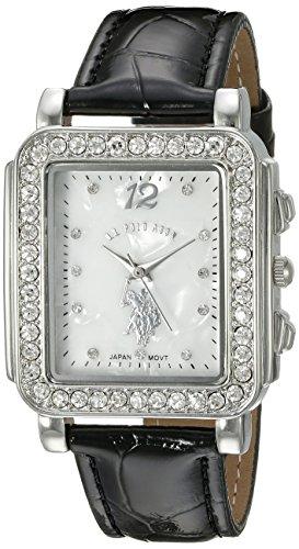 ユーエスポロアッスン 腕時計 レディース USC42016 【送料無料】U.S. Polo Assn. Women's USC42016 Analog Display Japanese Quartz Black Watchユーエスポロアッスン 腕時計 レディース USC42016