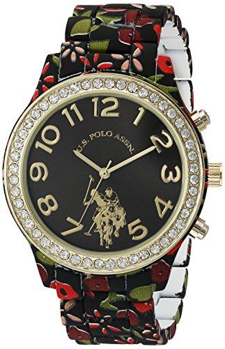 ユーエスポロアッスン 腕時計 レディース USC40108 【送料無料】U.S. Polo Assn. Women's Quartz Metal and Alloy Watch, Color:Two Tone (Model: USC40108)ユーエスポロアッスン 腕時計 レディース USC40108