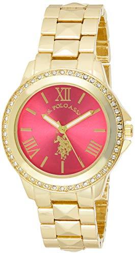 ユーエスポロアッスン 腕時計 レディース USC40077 【送料無料】U.S. Polo Assn. Women's USC40077 Analog Display Japanese Quartz Gold Watchユーエスポロアッスン 腕時計 レディース USC40077