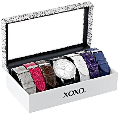 クスクス キスキス 腕時計 レディース XO9068 【送料無料】XOXO Women's XO9068 Analog-Display Quartz Watch with Interchangeable Bandsクスクス キスキス 腕時計 レディース XO9068