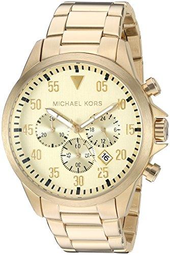マイケルコース 腕時計 メンズ マイケル・コース アメリカ直輸入 MK8491 Michael Kors Men' sGage Gold-Tone Watch MK8491マイケルコース 腕時計 メンズ マイケル・コース アメリカ直輸入 MK8491