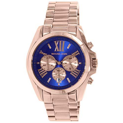 マイケルコース 腕時計 レディース マイケル・コース アメリカ直輸入 MK5951 【送料無料】Michael Kors Bradshaw Blue Dial Rose Gold Tone Women Watch MK5951マイケルコース 腕時計 レディース マイケル・コース アメリカ直輸入 MK5951
