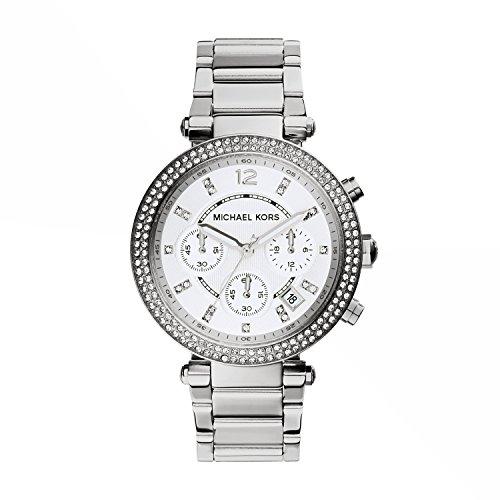 マイケルコース 腕時計 レディース マイケル・コース アメリカ直輸入 MK5353 【送料無料】Michael Kors Women's Parker Silver-Tone Watch MK5353マイケルコース 腕時計 レディース マイケル・コース アメリカ直輸入 MK5353
