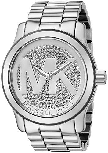 マイケルコース 腕時計 レディース マイケル・コース アメリカ直輸入 MK5544 Michael Kors Runway MK Silver Dial Women's Watch - MK5544マイケルコース 腕時計 レディース マイケル・コース アメリカ直輸入 MK5544