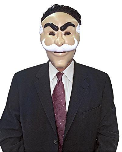 コスプレ衣装 コスチューム その他 3838 Rasta Imposta Mr. Robot Mask, Officially Licensed by NBC Universalコスプレ衣装 コスチューム その他 3838