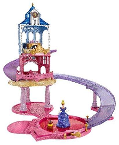 ディズニープリンセス BDK09 Disney Princess Glitter Glider Castle Playsetディズニープリンセス BDK09