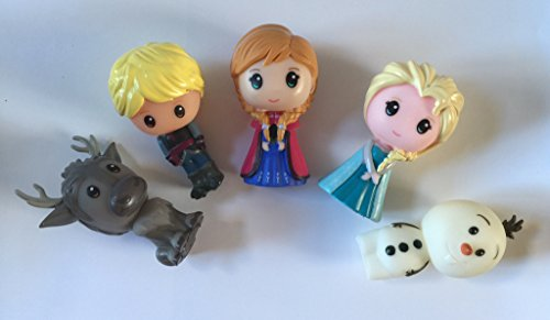 Set for 2 FS Disney Anna /& Elsa Qposket Characters Frozen Pastel Color ver