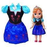 アナと雪の女王 アナ雪 ディズニープリンセス フローズン NA Disney Frozen Anna Doll & Toddler Dress Gift Setアナと雪の女王 アナ雪 ディズニープリンセス フローズン NA