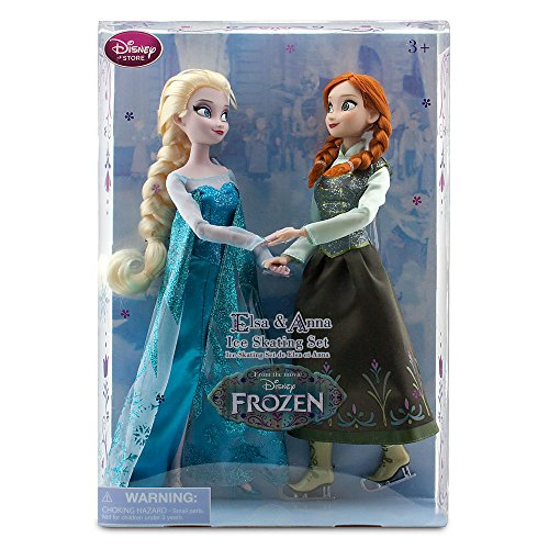 アナと雪の女王 アナ雪 ディズニープリンセス フローズン Disney Frozen Princess Elsa & Anna Ice Skating Doll Set 11.5
