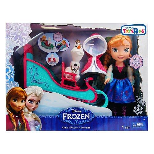 アナと雪の女王 アナ雪 ディズニープリンセス フローズン Disney Anna's Frozen Adventure with Sleigh and Olafアナと雪の女王 アナ雪 ディズニープリンセス フローズン