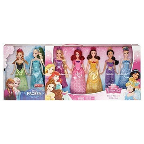 ディズニープリンセス BGP75 Disney Princess Royal Doll Collection 7-Packディズニープリンセス BGP75