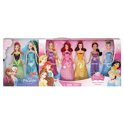 ディズニープリンセス Disney Princess Ultimate Collection 7-Pack 2015ディズニープリンセス