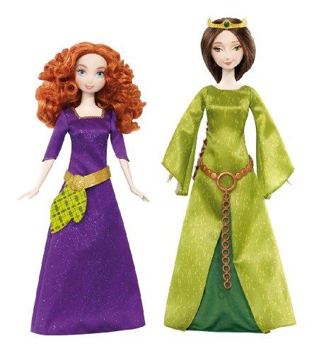 メリダとおそろしの森 メリダ ブレイブ ディズニープリンセス X5322 【送料無料】Disney/Pixar Brave Merida & Queen Elinor Doll 2-Packメリダとおそろしの森 メリダ ブレイブ ディズニープリンセス X5322