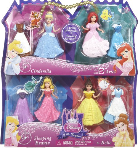 ディズニープリンセス L4623 Disney Princess Favorite Moments 4-Pack Gift set-Styles May Varyディズニープリンセス L4623