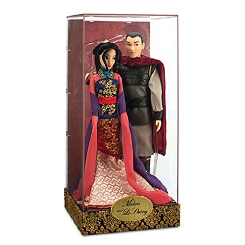 ムーラン 花木蘭 ディズニープリンセス Disney -Mulan and Li Shang Doll Set - Disney Fairytale Designer Collection - NEWムーラン 花木蘭 ディズニープリンセス