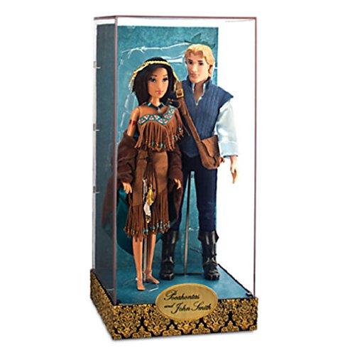 ポカホンタス ディズニープリンセス 【送料無料】Disney Pocahontas and John Smith Doll Set - Disney Fairytale Designer Collectionポカホンタス ディズニープリンセス