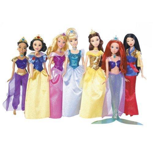 ディズニープリンセス Disney Princess Shimmer Doll Collectionディズニープリンセス