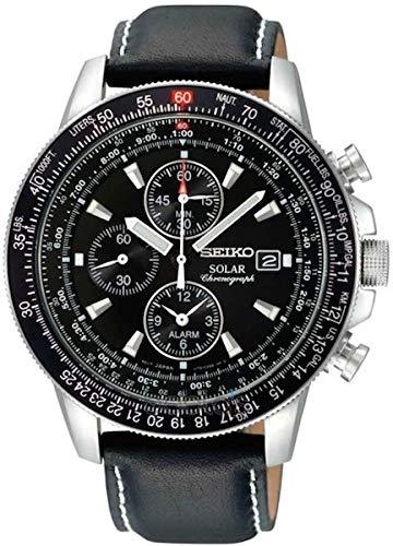 セイコー 腕時計 メンズ SSC009P3 Seiko Men's SSC009P3 Black Dial Flight Watchセイコー 腕時計 メンズ SSC009P3