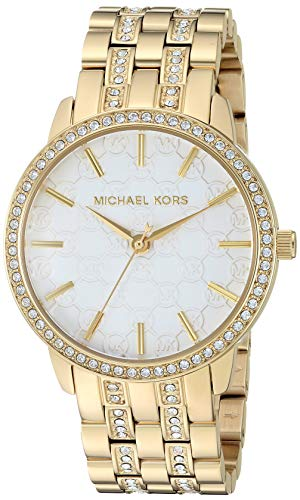 マイケルコース 腕時計 レディース 母の日特集 マイケル・コース MK3214 【送料無料】Michael Kors Women's Lady Nini Quartz Watch with Stainless-Steel-Plated Strap, Gold, 18 (Model: マイケルコース 腕時計 レディース 母の日特集 マイケル・コース MK3214
