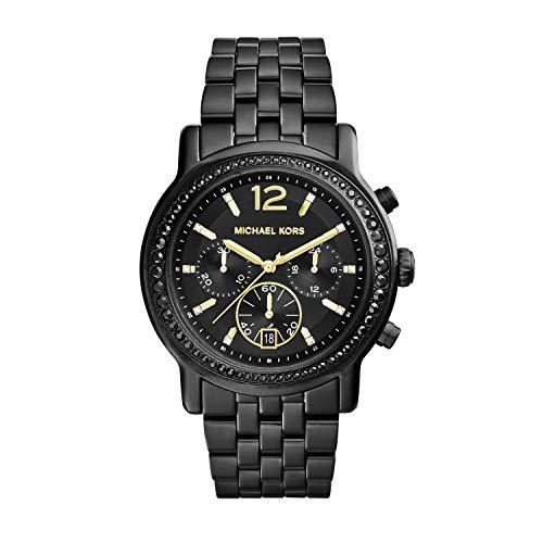 マイケルコース 腕時計 レディース マイケル・コース アメリカ直輸入 MK5984 【送料無料】Michael Kors Women's Baisley Quartz Watch with Stainless-Steel-Plated Strap, Black, 20.4マイケルコース 腕時計 レディース マイケル・コース アメリカ直輸入 MK5984