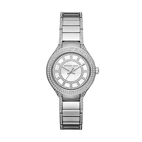 マイケルコース 腕時計 レディース 母の日特集 マイケル・コース MK3441 【送料無料】Michael Kors Women's Mini Kerry Silver-Tone Watch MK3441マイケルコース 腕時計 レディース 母の日特集 マイケル・コース MK3441