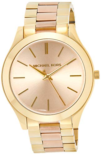 マイケルコース 腕時計 レディース マイケル・コース アメリカ直輸入 MK3493 Michael Kors Women's Slim Runway Gold-Tone Watch MK3493マイケルコース 腕時計 レディース マイケル・コース アメリカ直輸入 MK3493