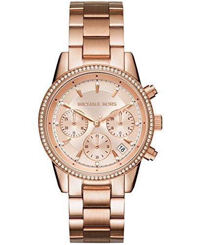 マイケルコース 腕時計 レディース マイケル・コース アメリカ直輸入 MK6357 Michael Kors Women's Ritz Rose Gold-Tone Watch MK6357マイケルコース 腕時計 レディース マイケル・コース アメリカ直輸入 MK6357