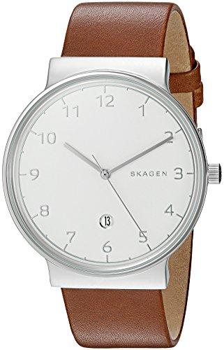 スカーゲン 腕時計 メンズ SKW6292 Skagen Men's SKW6292 Ancher Dark Brown Leather Watchスカーゲン 腕時計 メンズ SKW6292
