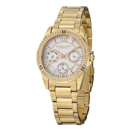 ストゥーリングオリジナル 腕時計 レディース 914.02 【送料無料】Stuhrling Original Women's 914.02 Helena Date Goldストゥーリングオリジナル 腕時計 レディース 914.02