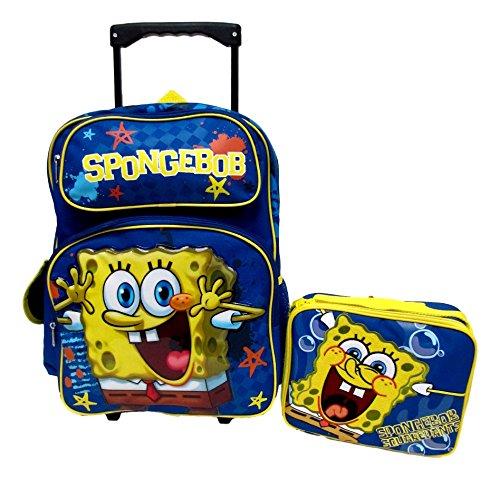 スポンジボブ バッグ バックパック リュックサック カートゥーンネットワーク Sponge Bob Squarepants Nickelodeon Large 16