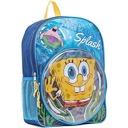 スポンジボブ バッグ バックパック リュックサック カートゥーンネットワーク KAB6584783 【送料無料】Spongebob Backpack - SpongeBob & Patrick Make A Splash 16 Kid'スポンジボブ バッグ バックパック リュックサック カートゥーンネットワーク KAB6584783