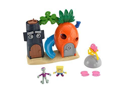 スポンジボブ カートゥーンネットワーク Spongebob キャラクター アメリカ限定多数 X7685 Fisher-Price Imaginext Nickelodeon SpongeBob SquarePants Bikini Bottom Playsetスポンジボブ カートゥーンネットワーク Spongebob キャラクター アメリカ限定多数 X7685