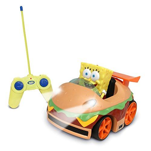 スポンジボブ カートゥーンネットワーク Spongebob キャラクター アメリカ限定多数 2511 【送料無料】NKOK Remote Control Krabby Patty Vehicle with Spongebobスポンジボブ カートゥーンネットワーク Spongebob キャラクター アメリカ限定多数 2511