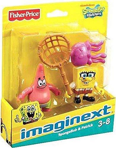 スポンジボブ カートゥーンネットワーク Spongebob キャラクター アメリカ限定多数 W9586 Imaginext, SpongeBob Squarepants, Exclusive Figures, SpongeBob & Patrick, 2-Packスポンジボブ カートゥーンネットワーク Spongebob キャラクター アメリカ限定多数 W9586