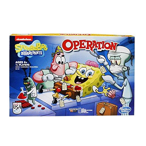スポンジボブ カートゥーンネットワーク Spongebob キャラクター アメリカ限定多数 B2182 SpongeBob SquarePants Operation Gameスポンジボブ カートゥーンネットワーク Spongebob キャラクター アメリカ限定多数 B2182