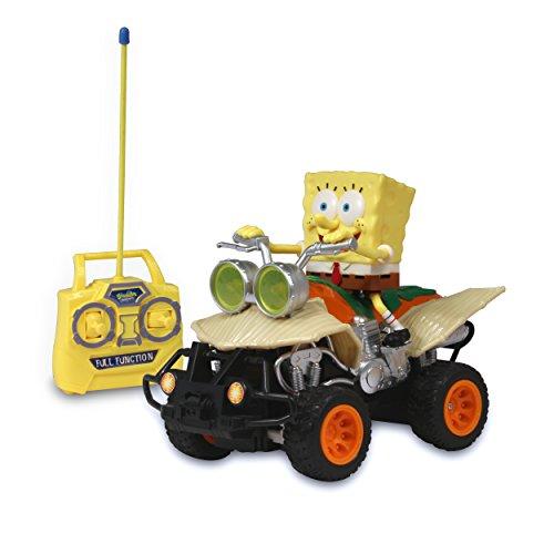 スポンジボブ カートゥーンネットワーク Spongebob キャラクター アメリカ限定多数 2521 NKOK R/C SpongeBob ATV Vehicle, Yellowスポンジボブ カートゥーンネットワーク Spongebob キャラクター アメリカ限定多数 2521