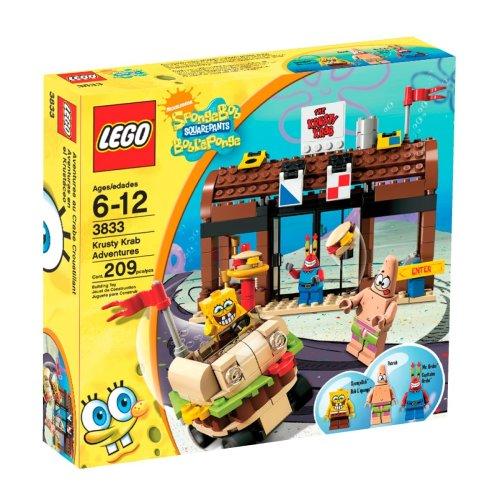 スポンジボブ カートゥーンネットワーク Spongebob キャラクター アメリカ限定多数 3833 【送料無料】LEGO SpongeBob SquarePants Krusty Krab Adventuresスポンジボブ カートゥーンネットワーク Spongebob キャラクター アメリカ限定多数 3833